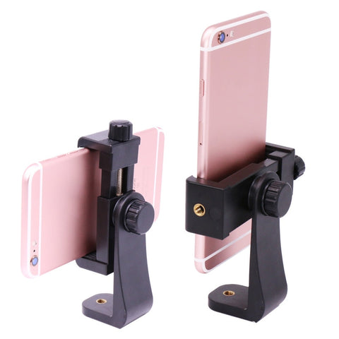 Universal Mobile Phone tripod mount Phone Clamp for 4-6.8inch