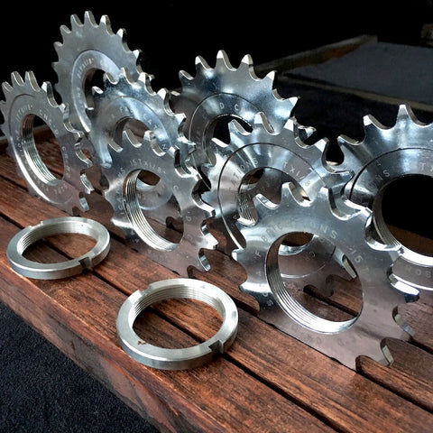 Track Cogs and Lockrings