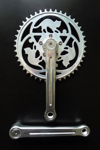 Sunxcd Crankset with Solida Cats, Dust Caps and Bolts