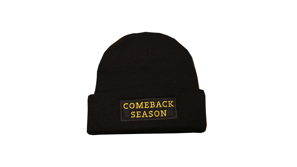 CBS Tuque Gold/Black