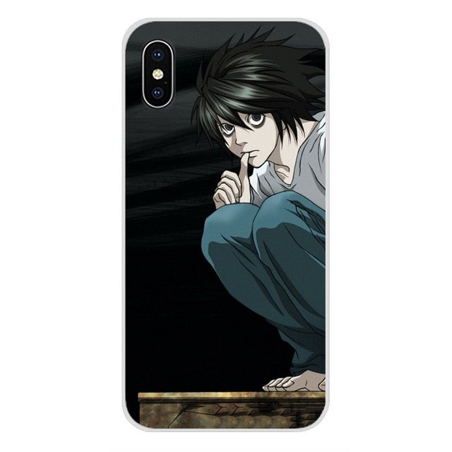 Death Note L iPhone Case - The Anime Bazaar