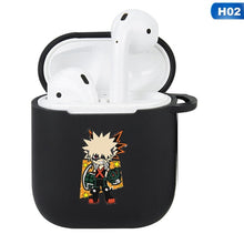 Load image into Gallery viewer, My Hero Academia Silicone AirPods Case - The Anime Bazaar