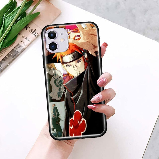 Naruto Akatsuki Pain iPhone Case - The Anime Bazaar