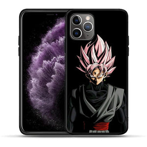Dragon Ball Black Goku Rosé iPhone Case - The Anime Bazaar