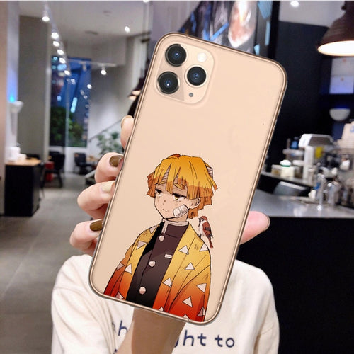 Demon Slayer iPhone Zenitsu Case - The Anime Bazaar