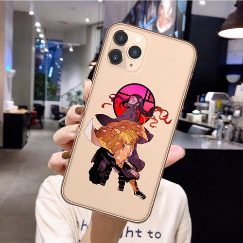 Demon Slayer Zenitsu iPhone Case - The Anime Bazaar