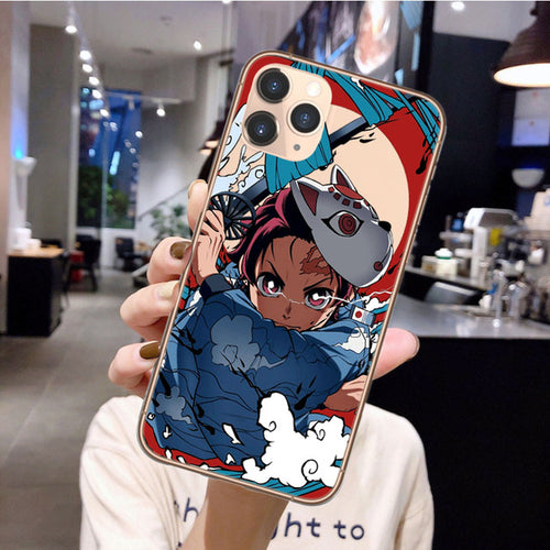 Demon Slayer Tanjiro iPhone Case - The Anime Bazaar