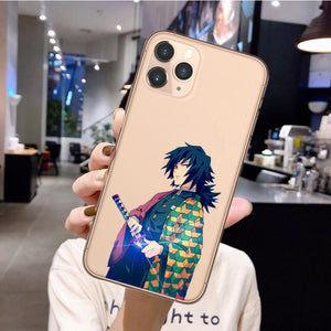 Demon Slayer Giyu iPhone Case - The Anime Bazaar