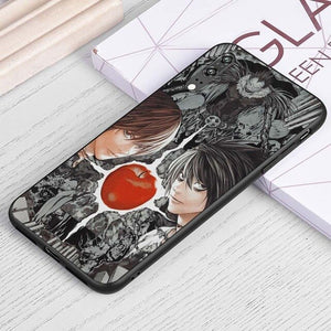 Death Note Light L Apple Samsung Case - The Anime Bazaar