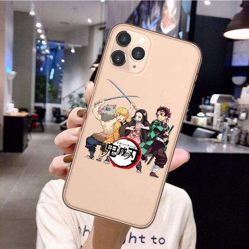 Demon Slayer MC iPhone Case - The Anime Bazaar