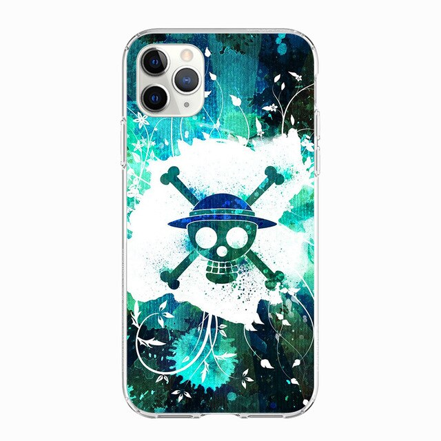 One Piece Straw Hat Pirate Green iPhone Case - The Anime Bazaar