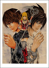 Load image into Gallery viewer, Death Note Poster Print - The Anime Bazaar