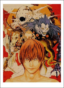 Death Note Poster Print - The Anime Bazaar