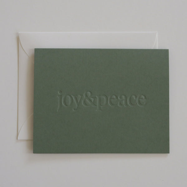 Joy & Peace No. 01