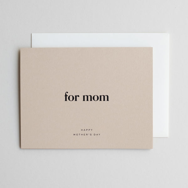 For Mom No. 01