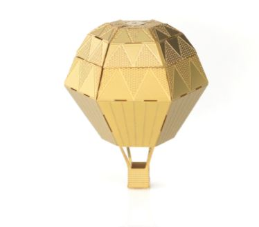 Mini Hot Air Balloon For Your Plants