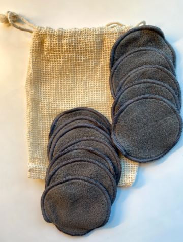 Microfiber Face Pads & Bag