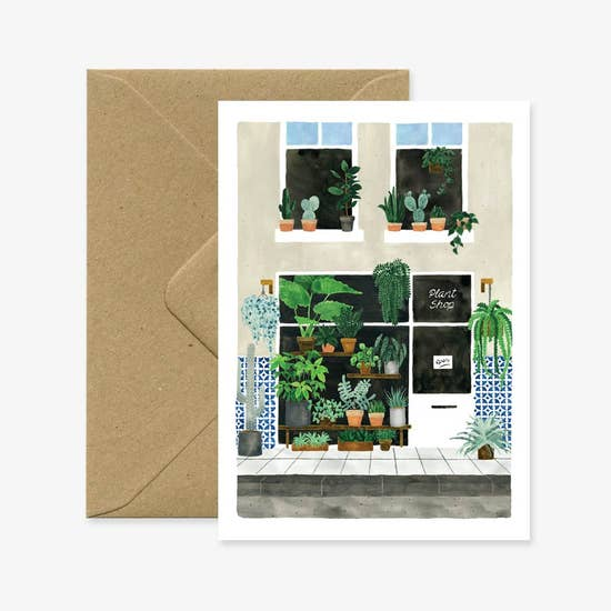 Nursery Plant Greeting Card