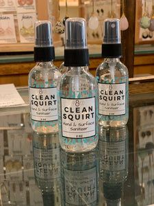 Clean Squirt Hand Sanitizer