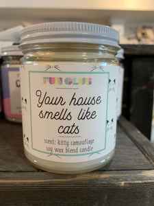 Your House Smells Like Cats