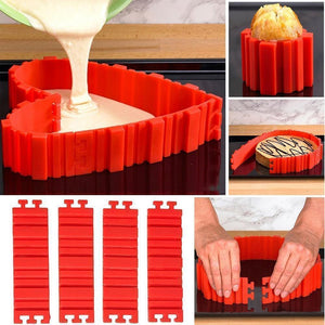 Wowslife™ DIY Nonstick Silicone Cake Mold Kitchen Baking Mould Tools