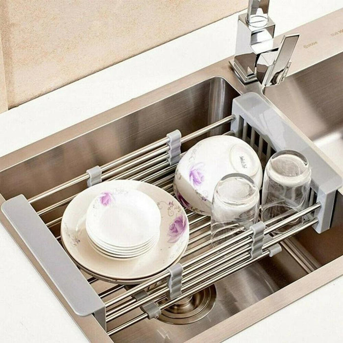 Wowslife™ Stainless Steel Sink Drain Basket