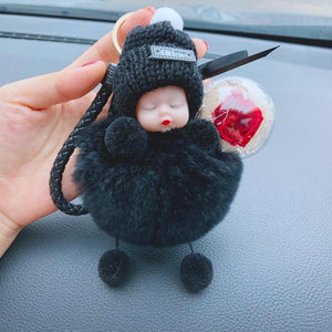 Wowslife™ Cute simulation plush squint doll
