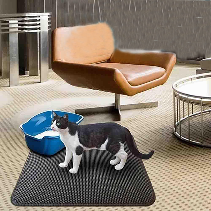 Wowslife™ New Double Layer Larger Size Cat Litter Mat