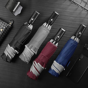Wowslife™ Foldable Reversible Automatic Umbrella