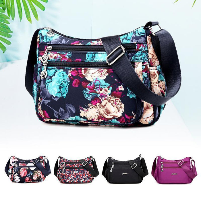 Wowslife™ Floral Large Capacity Shoulder Bag