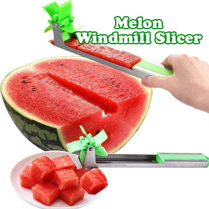 Wowslife ™ Magic Household Tool Melon Slicer Artifact Windmill Cutter