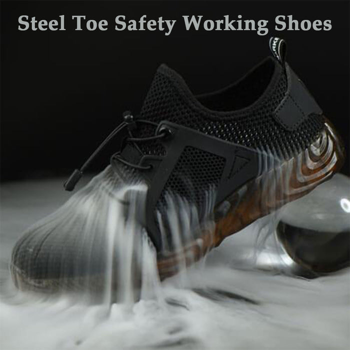 Wowslife™ Industrial Construction Steel Toe Safety Working Shoes