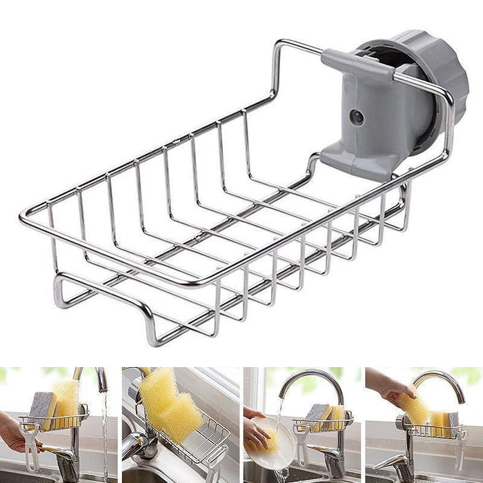 Wowslife™ Kitchen Sink Organizer Rack