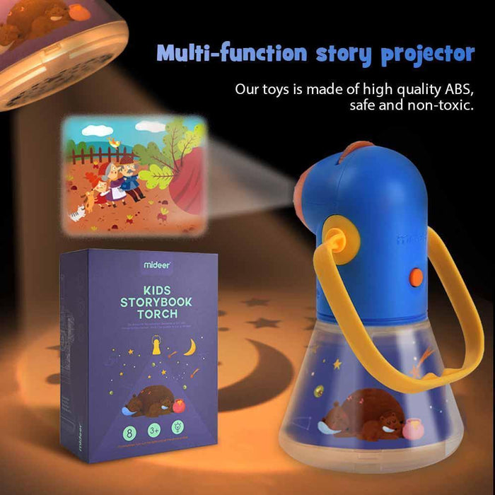Wowslife™ Starry Night Light Multifunctional Story Projector