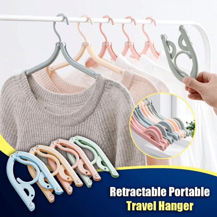 Wowslife™ 8 pcs Retractable Portable Travel Hanger