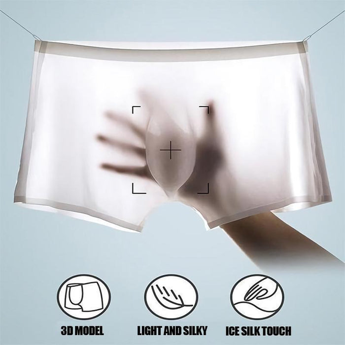 Wowslife™ Male breathable underpants made of ice silk