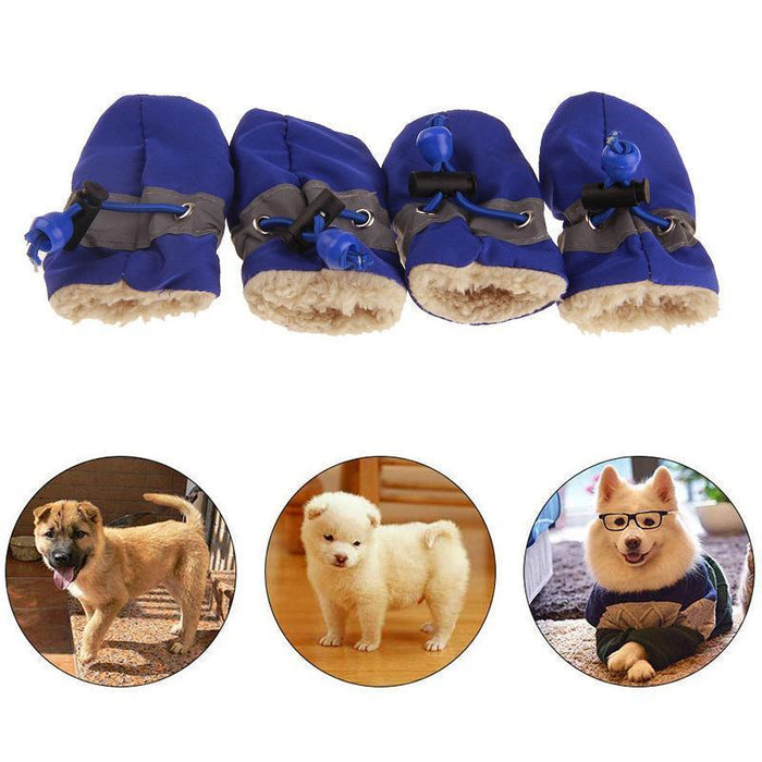 Wowslife™ Insulated Winter Shoes for Dogs