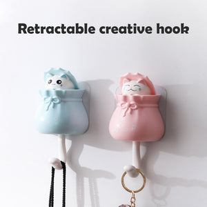 Wowslife™ Retractable creative hook (4pcs)
