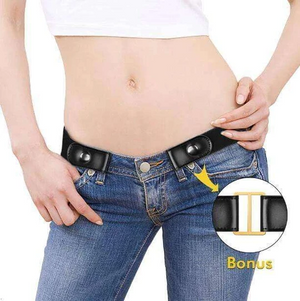 Wowslife™Stretchable Elastic Belt for Jeans, Pants, Dresses