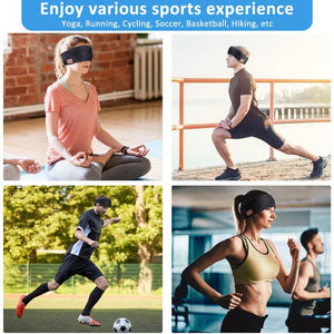 Wowslife™Hot Sales 50%OFF!-Wireless Bluetooth Headband Music Phone Yoga