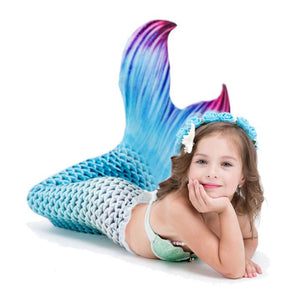 Wowslife ™Girls / Adults Swimmable Mermaid Tail  Bathing Suit