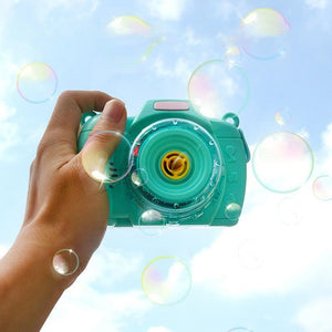 Wowslife™ Children's camera bubble machine light music bubble camera toy