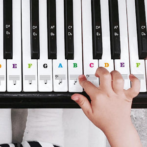 Wowslife™ Piano Keyboard Stickers