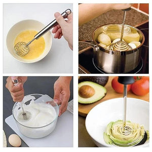 Wowslife™ Multi-role Egg Whisk Potato Masher