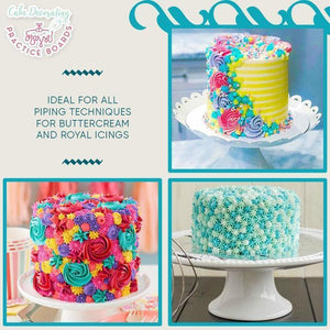 Wowslife™Cake Decorating Practice Boards
