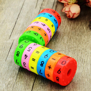 Wowslife™ Magnetic Arithmetic Learning Toys Math Games Math Resources Children Number Games Number Blocks Magnet Toys for Kids Children Gifts
