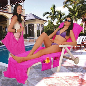 Wowslife™ Lounger Beach Towel
