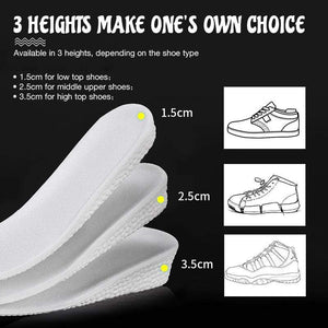 Wowslife™Sponge Heightening Insoles Shoe Inserts
