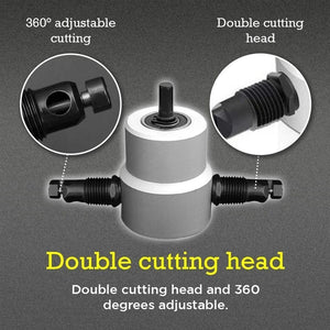 Wowslife™ Double Head Sheet Metal Nibbler Cutter