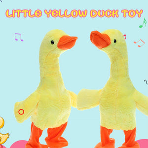 Wowslife™ Electric Small Walking Duck Soft Plush Toy